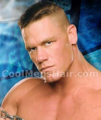 John Cena crew cut.
