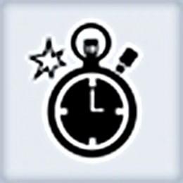 Overclocker achievement & trophy icon.