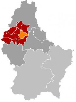 Map location of Goesdorf
