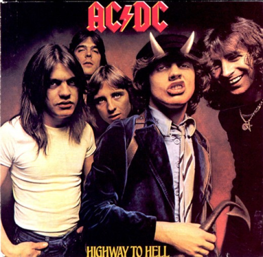 AC/DC Hard Rock Band.  Picture from Google Images.