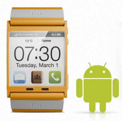 This watch runs Android! Really!