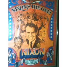 My Richard Nixon 1972 Re-election Poster.