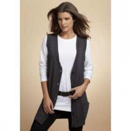 Sweater vests are a great accessory for both skirts and jeans
