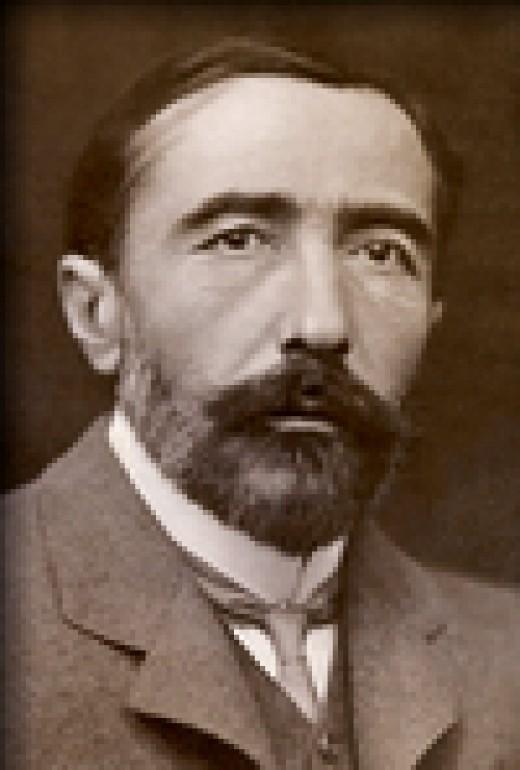 Joseph Conrad, 1857-1924.