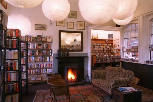 Barter Books, Alnwick: the first room that you see as you step through the front door.