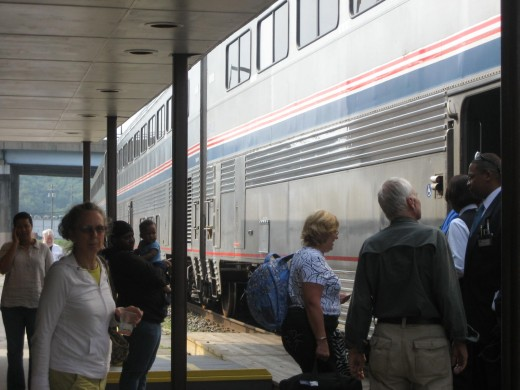 Amtrak, Cumberland, Maryland