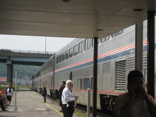 Amtrak Stop between PA, and DC