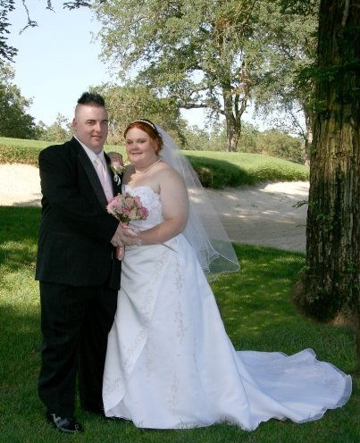 Jason and I on our wedding day