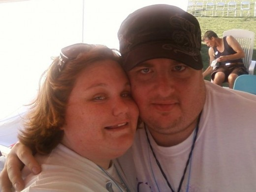 Me and Jason at Relay For Life 2010