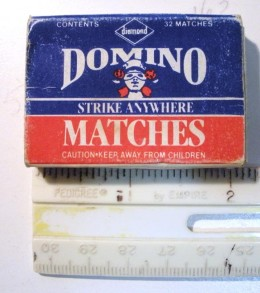 This is the size matchbox you need