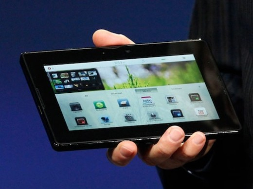Blackberry Playbook... a 7 inch tablet. Will Amazon Kindle (tablet) be just like this (though probably white)?