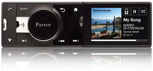 Parrot ASTEROID, the Android based car stereo, complete with Internet streaming!