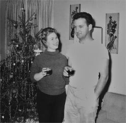 My Father and Mother Christmas 1964