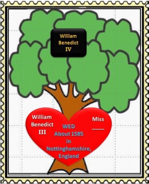 William Benedict III tree