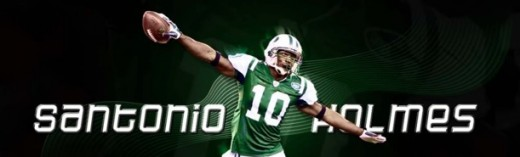 Santonio Holems New York Jets Wide Receiver