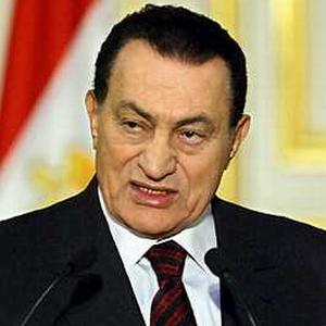 Husni Mubarak follows and forced to step down