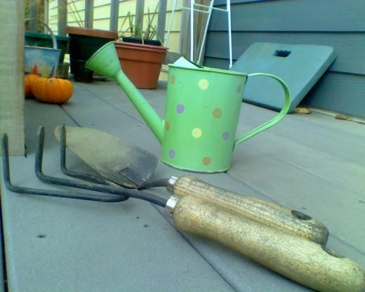 My gardening tools