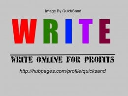 write good quality articles with original content and optimize them for the search engines by placing links to your articles on recommended sites like SheToldMe, BestReviewer, and social bookmarking sites to earn revenue from Google's AdSense program