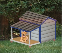 how to build a dog house free plans