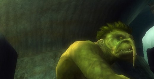 Trolls are described by DDO as foul-smelling, rubbery creatures with a nasty disposition.