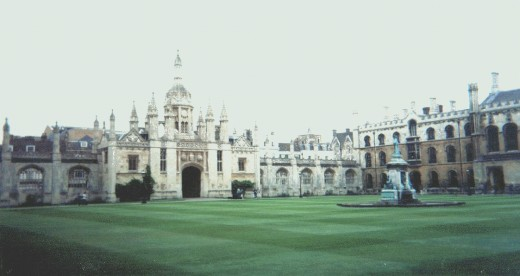 The historic Cambridge University, Prof. Humphreys employer