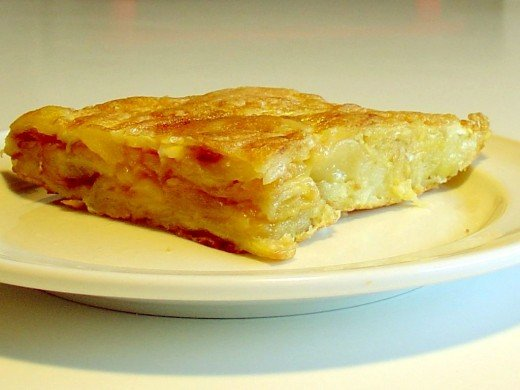 The Spanish Omelette also known in Spanish as la tortilla espanola or la tortilla de patatas