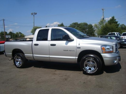 2006 Silver Dodge Ram 1500 similar to mine, except mine had a tonno cover.