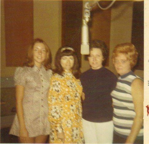 Judy, Maxine, Ann, Darlene