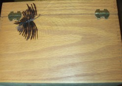 Wood Burning Palm Tree Silhouettes On A Wood Box: Part 1