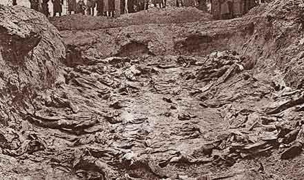 Mass Grave at Katyn.