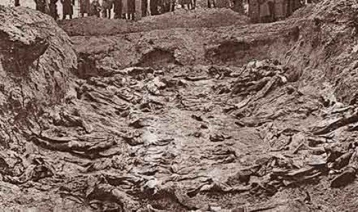 Mass Grave at Katyn.