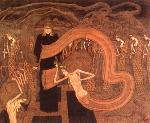 Jan Toorop: Fatalism, 1893