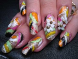 Simple nail art designs are very easy to make, if you have a book on nail art and if you have a couple of great ideas. Learn how to make simple nail art designs on your own by viewing this hub.