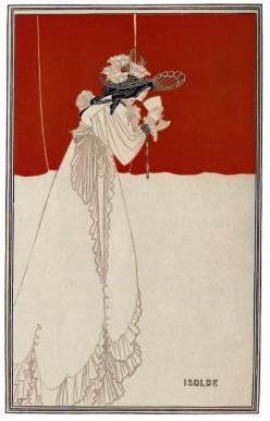 Aubrey Beardsley: Isolde, 1895