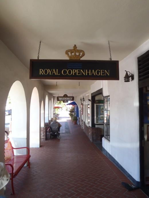 Royal Copenhagen Shop.