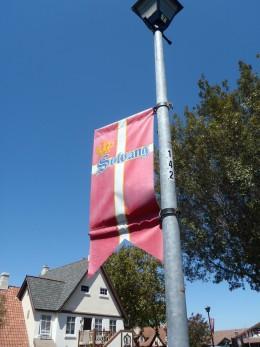 Solvang street sign.