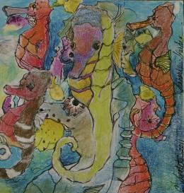 """""""Sea Horse Garden"""", 2011"""