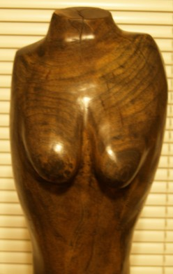 Figure carvings are always a challenge when working with hardwood.