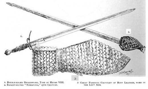 17th Century Broadsword