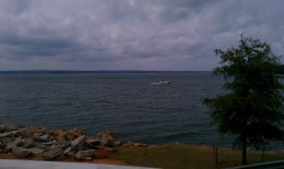view of lake from Irmo side