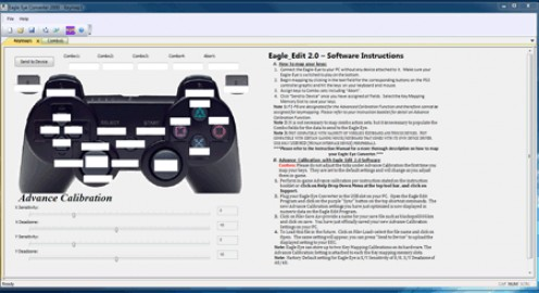 Software to configure the kep mapping for the Eagle Eye Converter for the Playstation 3.