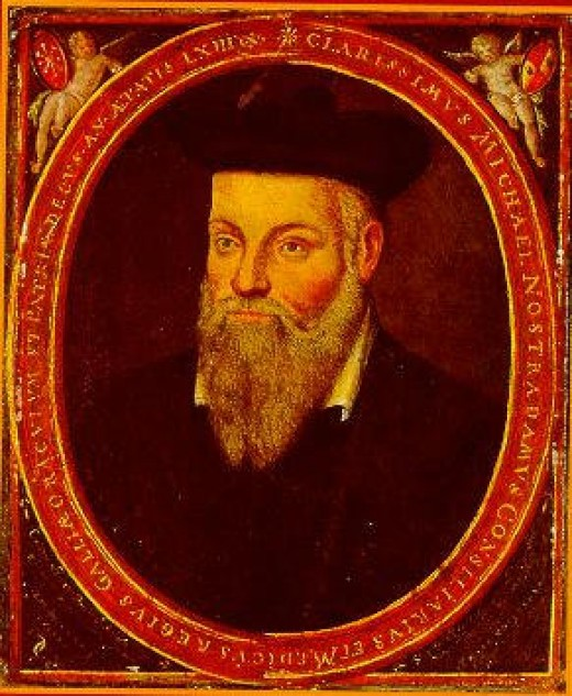 Nostradamus: The Famous Mystic and Predictor of the Future.