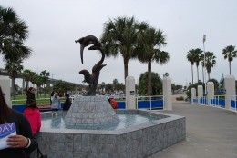 Entrance to State Aquarium in Corpus Christi