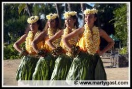 Hawaiian dancers! Their dances are so peaceful and enduring.  It will take your breath away!