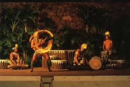 Hawaiian fire dancy -- You have got to see a fire dance in person to experience the true excitement of this dance!
