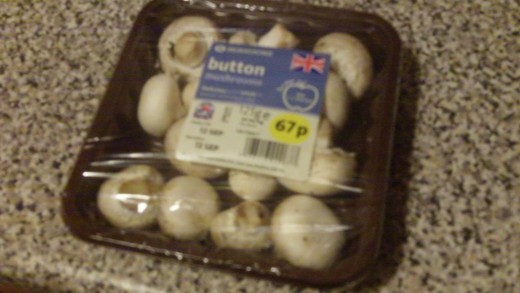 Get your button mushrooms ready...