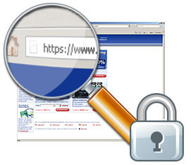 https, secure HTTP browser through SSL encryption