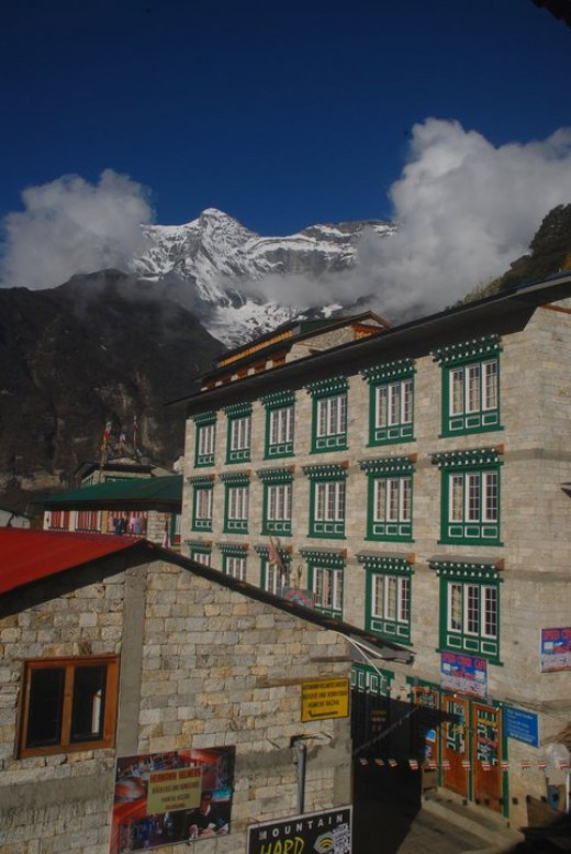Namche Bazaar: largest village in the Everest Region