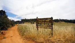 The desolate area where the body was found