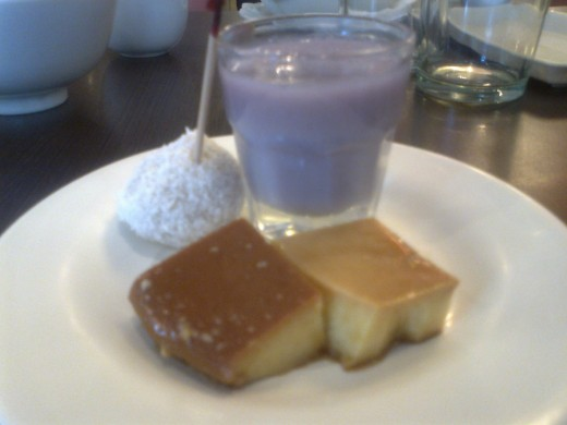 Halo-Halo and Leche plan